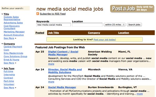 Newmedia jobs