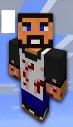 Vintage beef Minecraft Figure