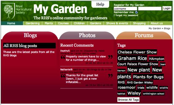 Rhs blogs