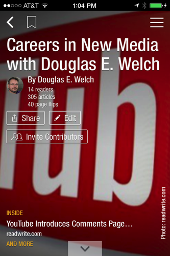 Read Careers in New Media on Flipboard