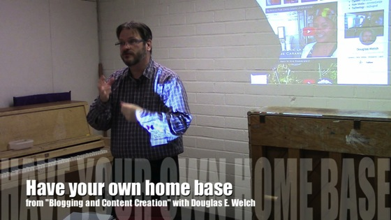 New Media 101 - Have your own home base