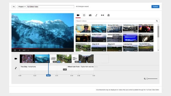 Noted: How to Edit Videos In Your Browser With YouTube's