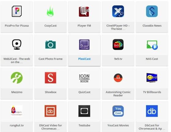 Google now catalogs hundreds of Chromecast apps for easier discovery via GiGAOM