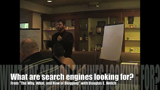 Video: New Media 101: What are search engines looking for?  from