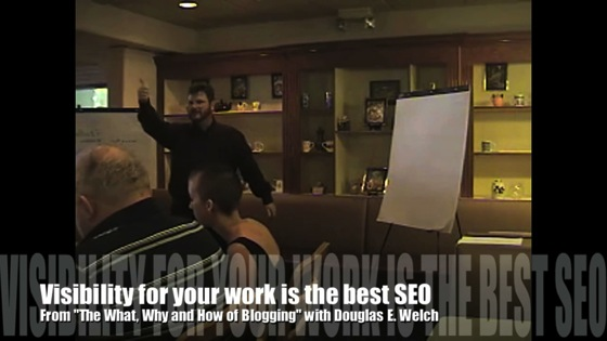 Video: New Media 101: Visibility for your work is the best SEO from