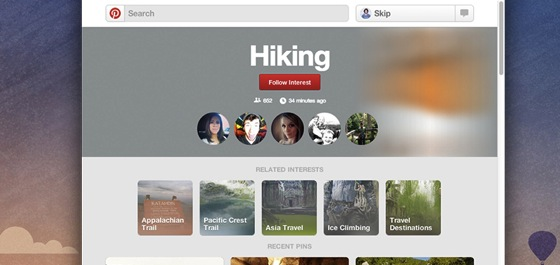 Follow What Interests You With New Pinterest Category Pages via Search Engine Journal