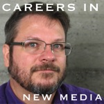 Careers in New Media Logo