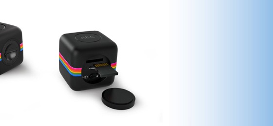 Polaroid Sets Sights on GoPro With Tiny, Water-Resistant Cube Camera via Mashabl