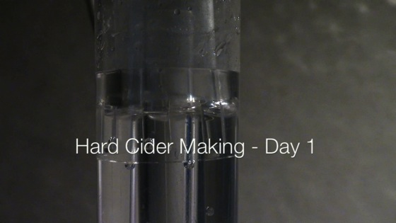 Making Hard Cider - Day 1 - Dog Days of Podcasting 2014 - 13/30