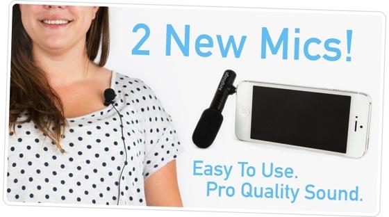 "Say ""Hello"" to these Pro Quality Phone Mics via PhotoJoJo"