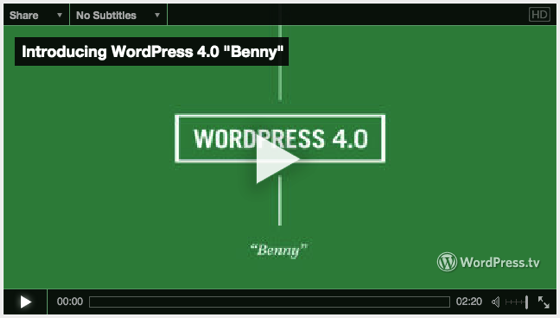 Software: WordPress 4.0 Now Available for Upgrade on all your sites