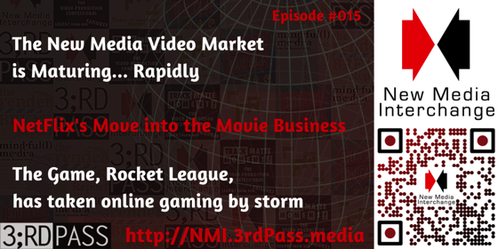 New Media Interchange 15: New Media Market Maturity, Robot League explodes and more!