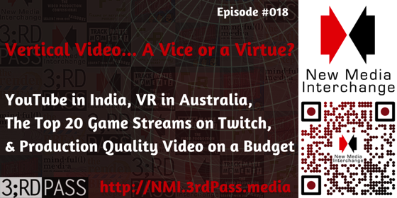 New Media Interchange 18: Vertical Video… A Vice or Virtue?