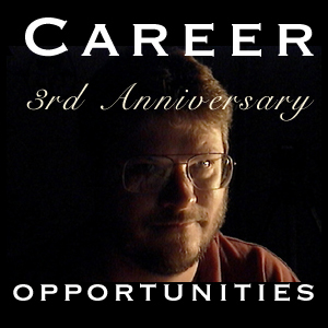 Career Opportunities 3rd Anniversary Logo