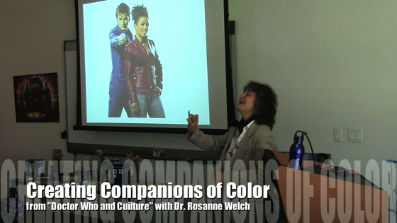 Drwho creating companions color