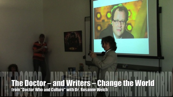 Doctor Who -- and Writers -- Change The World from