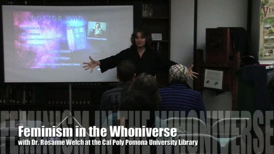 Video: Doctor Who: Feminism in the Whoniverse with Dr. Rosanne Welch