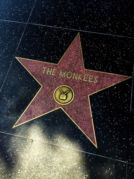 The Monkees Star on the Hollywood Walk of Fame