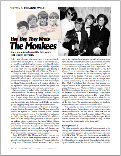 Writtenby monkees