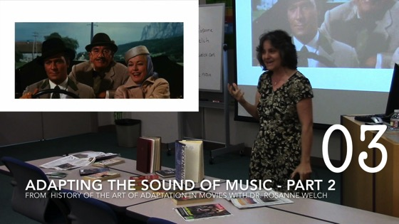 Adapting The Sound of Music Part 2 from A History of the Art of Adaptation in Movies like Dune, The Godfather, Harry Potter and More!