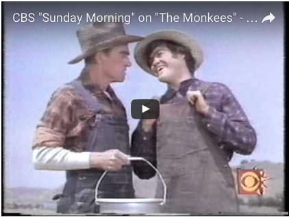 Out of the Research Vault: Previously on CBS Sunday Morning: Davy Jones in 1993