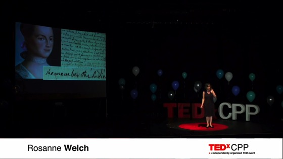 A Female Voice in the Room   Rosanne Welch   TEDxCPP [Video] (12:56)