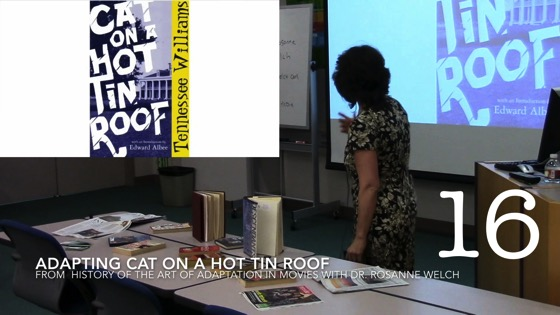 Adapting Cat on a Hot Tin Roof from A History of the Art of Adaptation