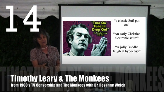 Timothy Leary & The Monkees from 1960's TV Censorship and The Monkees with Dr. Rosanne Welch