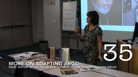More on Adapting Argo from A History of the Art of Adaptation [Video] (0:37)