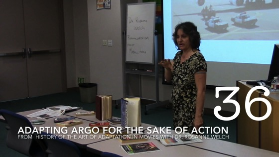 Adapting Argo for the Sake of Action from A History of the Art of Adaptation