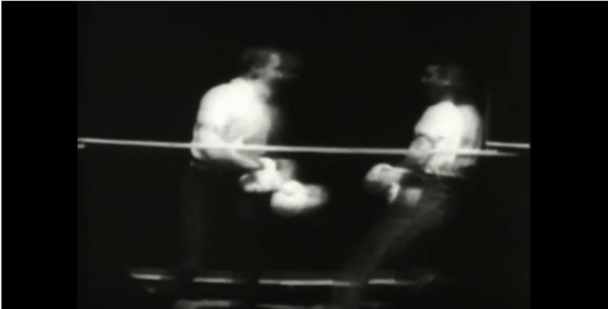 A History of Screenwriting - 9 in a series - Men Boxing, William K. L. Dickson, William Heise - Edison Manufacturing Company, 1891