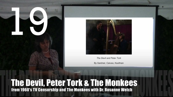 The Devil, Peter Tork and The Monkees from 1960's TV Censorship and The Monkees