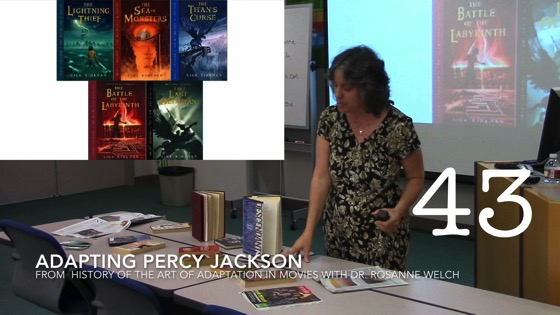 Adapting Percy Jackson from A History of the Art of Adaptation