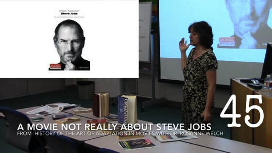 A Movie Not Really About Steve Jobs from A History of the Art of Adaptation