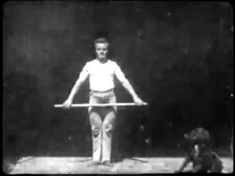 A History of Screenwriting - 15 in a series - Athlete with Wand (W. K. L. Dickson, USA, 1894)