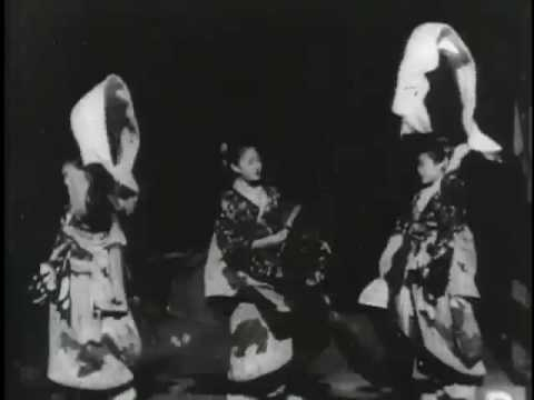 A History of Screenwriting - 16 in a series - Imperial Japanese Dance (W. K. L. Dickson, USA, 1894)