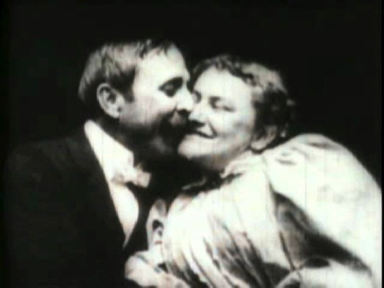 A History of Screenwriting - 20 in a series - The Kiss (W. K. L. Dickson, USA, 1896)