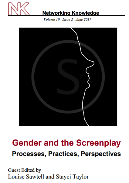 """Honey, You Know I Can't Hear You When You Aren't in the Room: Now free online from Gender and the Screenplay Journal"