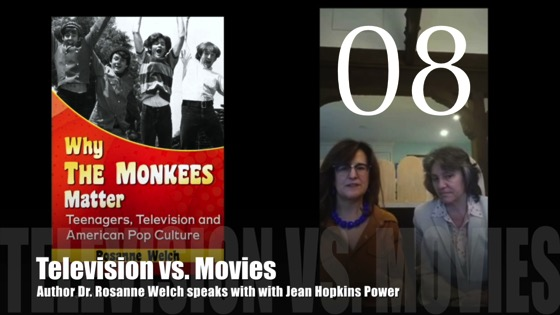 "08 : TV vs. Movies : ""Why The Monkees Matter"" Interview with Jean Power [Video] (1:03)"