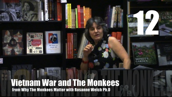 Vietnam War and The Monkees from Why The Monkees Matter Book Signing