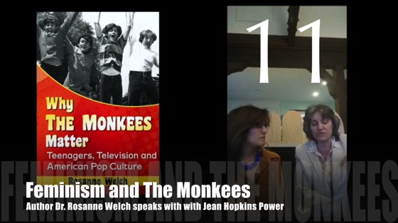 "11 : Feminism and The Monkees : ""Why The Monkees Matter"" Interview with Jean Power"