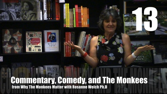 Commentary, Comedy, and The Monkees from Why The Monkees Matter Book Signing