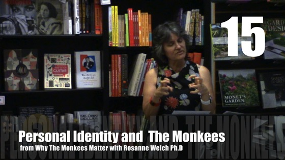 Personal Identity and The Monkees from Why The Monkees Matter Book Signing [Video] (0:37)