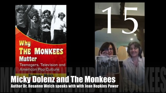 "15: Micky Dolenz and The Monkees : ""Why The Monkees Matter"" Interview with Jean Power [Video] (1:04)"
