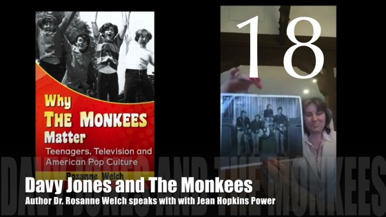 "18: Davy Jones and The Monkees : ""Why The Monkees Matter"" Interview with Jean Power"