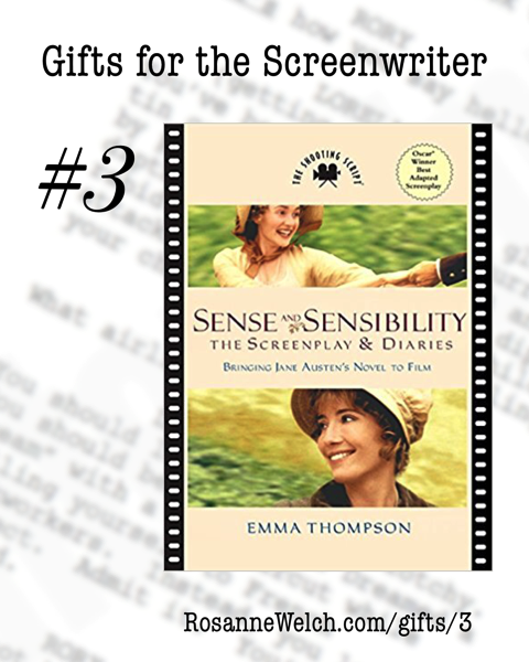 Sense and Sensibility: The Screenplay and Diaries | Gifts for the Screenwriter #3