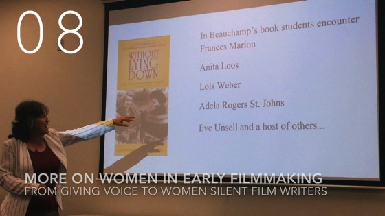 More On Women in Early Filmmaking from Giving Voice to Silent Films and the Far From Silent Women Who Wrote Them with Dr. Rosanne Welch