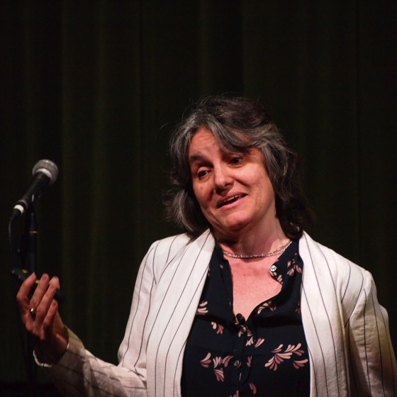 """Dr. Rosanne Welch presents the talk, """"Why this should be the last lecture you should sit through!"""" as part of the Last Lecture Series at Cal Poly Pomona."""