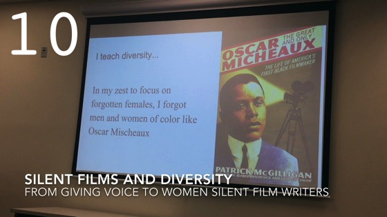 Silent Films and Diversity from Giving Voice to Silent Films and the Far From Silent Women Who Wrote Them with Dr. Rosanne Welch [Video]