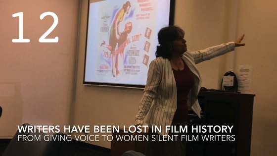 Writers Have Been Lost In Film History from Giving Voice to Silent Films and the Far From Silent Women Who Wrote Them with Dr. Rosanne Welch [Video]